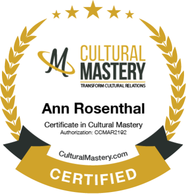 Cultural Mastery Digital Badge-Ann-Rosenthal
