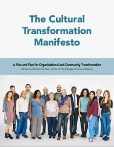 The Cultural Transformation Manifesto by Ricardo Gonzalez