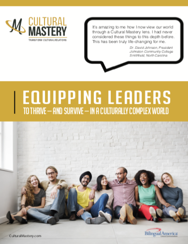Cultural Mastery Brochure - August, 2020