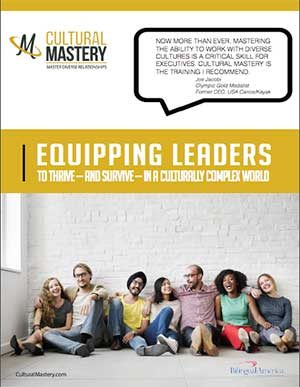 Cultural Mastery Course Overview Brochure